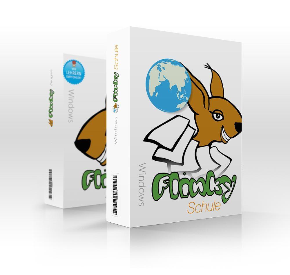 Produktpackung für Flinky Schule